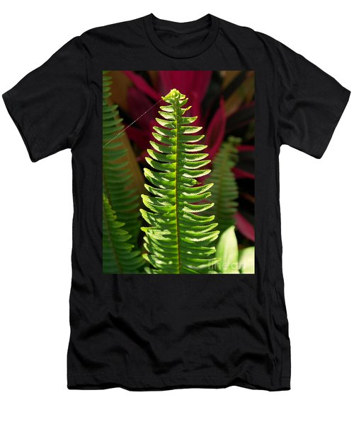 Men's T-Shirt (Slim Fit) featuring the photograph The Power Of One by Irma BACKELANT GALLERIES