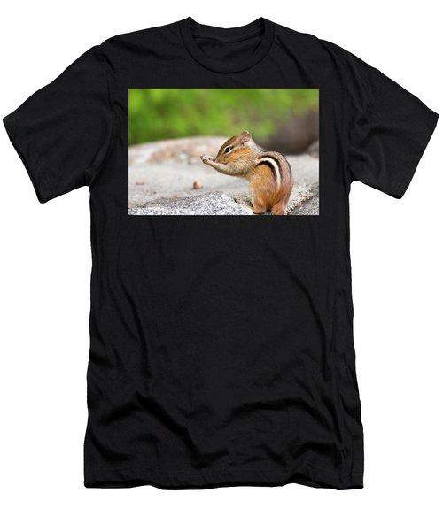 The Praying Chipmunk Men's T-Shirt (Athletic Fit)