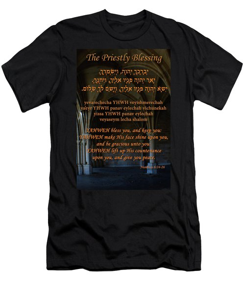The Priestly Aaronic Blessing Men's T-Shirt (Athletic Fit)