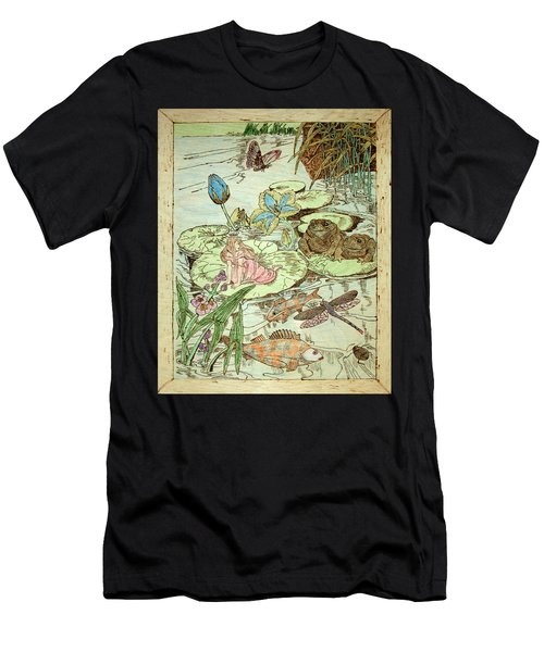 The Princess And The Frogs Men's T-Shirt (Athletic Fit)