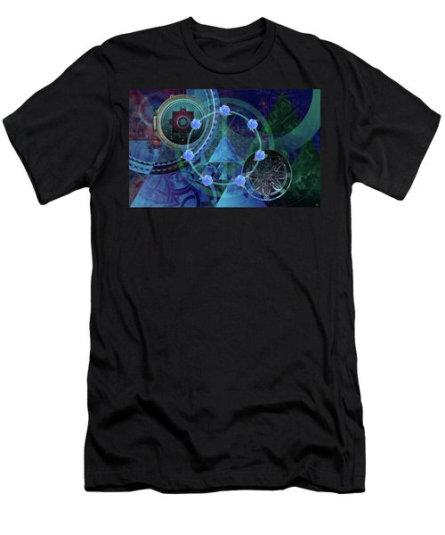 The Prism Of Time Men's T-Shirt (Athletic Fit)