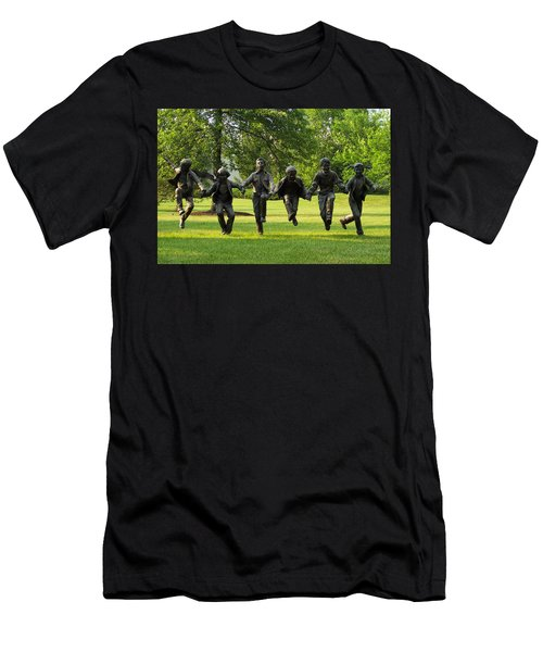 The Puddle Jumpers At Byers Choice Men's T-Shirt (Athletic Fit)