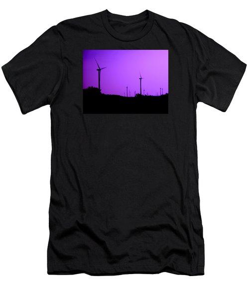 The Purple Expanse Men's T-Shirt (Athletic Fit)