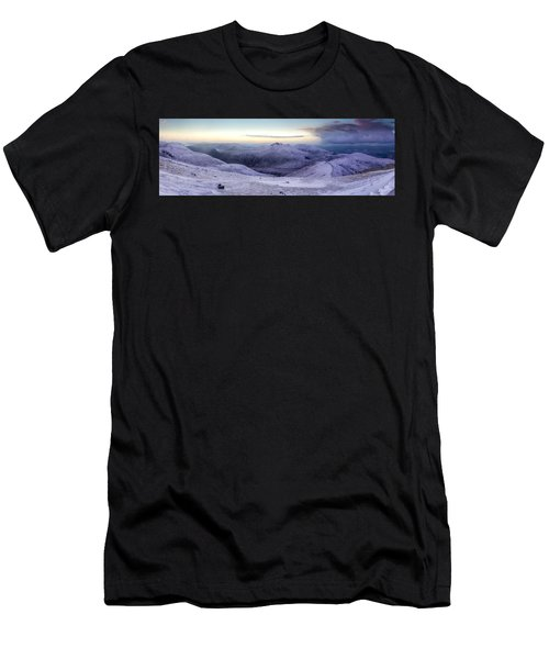 The Purple Headed Mountains Men's T-Shirt (Athletic Fit)