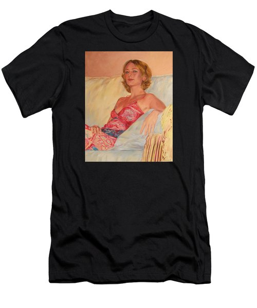 The Queen At Her Ease Men's T-Shirt (Athletic Fit)
