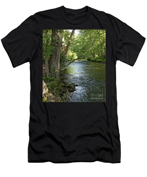 The Quiet Waters Flow Men's T-Shirt (Athletic Fit)