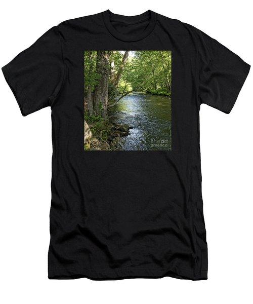 The Quiet Waters Flow Men's T-Shirt (Athletic Fit)