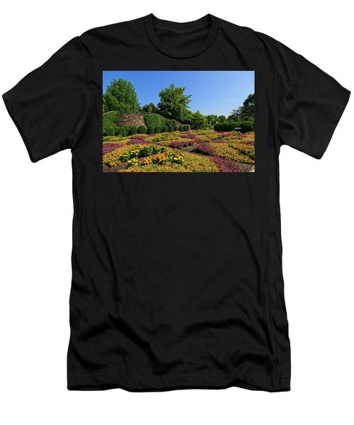 The Quilt Garden Men's T-Shirt (Athletic Fit)