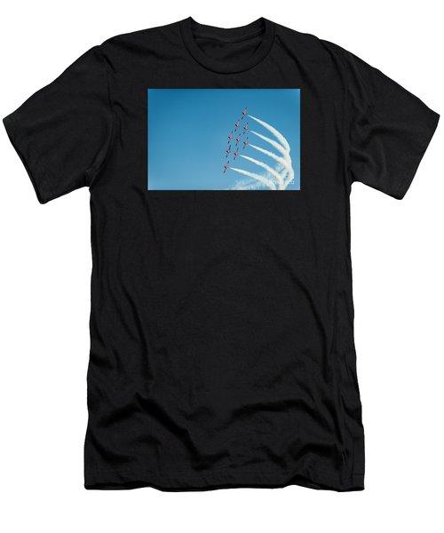 The Rcaf Snowbirds Men's T-Shirt (Athletic Fit)