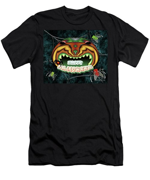 The Really Scared Pumpkin Melon Men's T-Shirt (Athletic Fit)