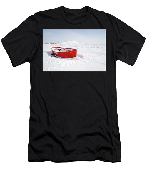 The Red Fishing Boat Men's T-Shirt (Athletic Fit)
