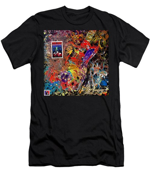 The Red Paintings Men's T-Shirt (Athletic Fit)