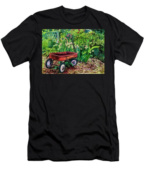 The Red Wagon Men's T-Shirt (Athletic Fit)