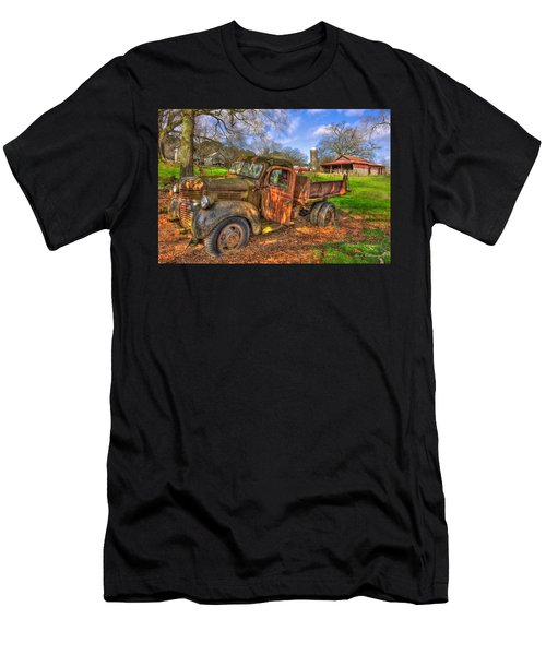 The Resting Place Boswell Farm 1947 Dodge Dump Truck Men's T-Shirt (Athletic Fit)