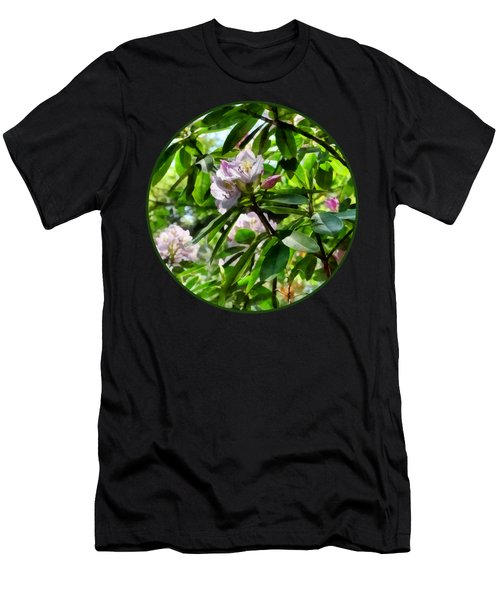 The Rhododendrons Are In Bloom Men's T-Shirt (Athletic Fit)