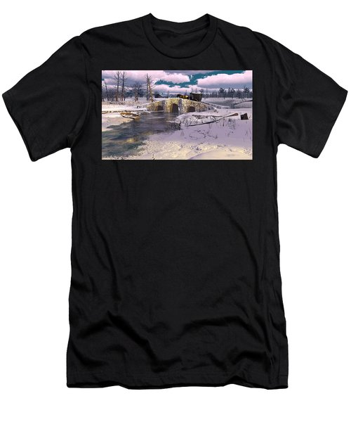 The Rhythm Of Frost Men's T-Shirt (Athletic Fit)