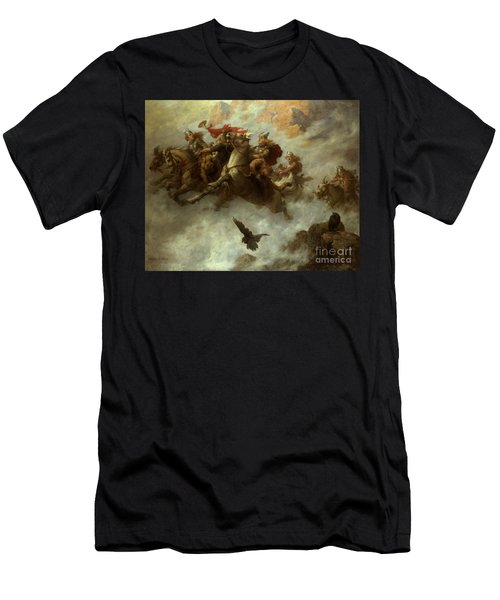 The Ride Of The Valkyries  Men's T-Shirt (Athletic Fit)