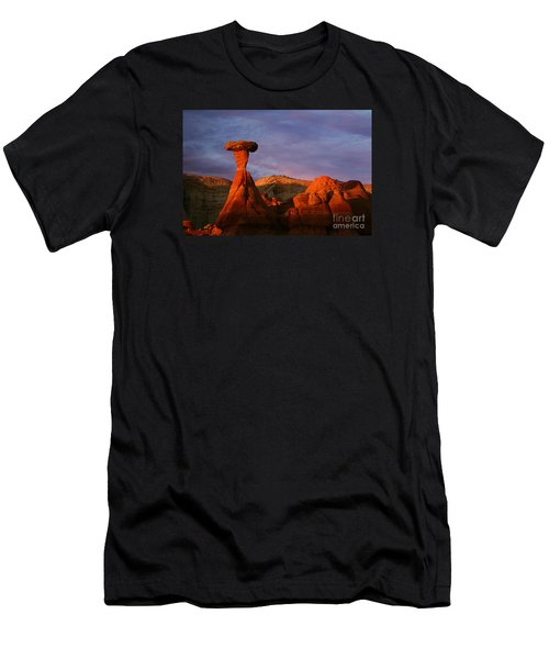 The Rim Rocks Men's T-Shirt (Athletic Fit)