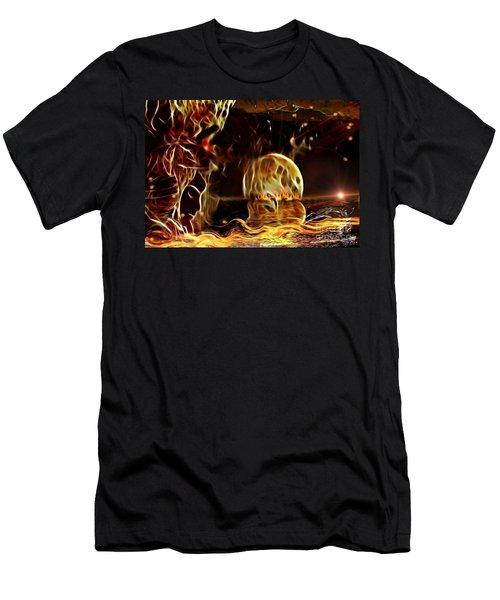 The Rising Horizont  Men's T-Shirt (Athletic Fit)