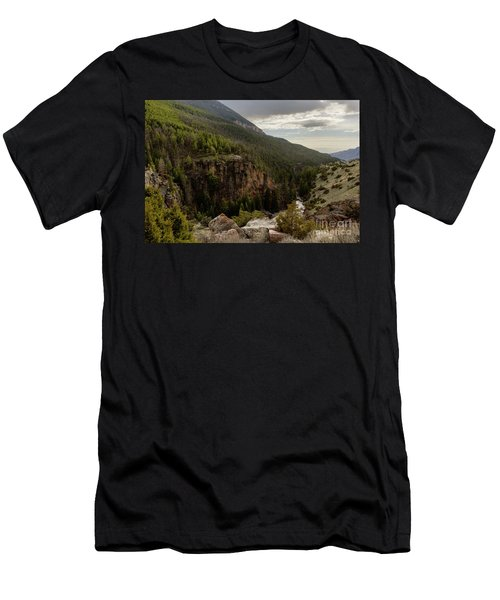 The River Below Men's T-Shirt (Athletic Fit)