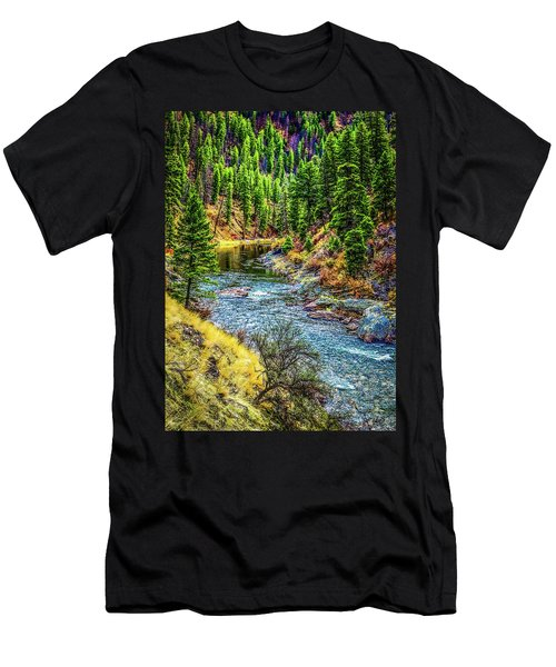 The River Men's T-Shirt (Athletic Fit)