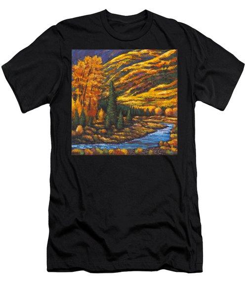 The River Runs Men's T-Shirt (Athletic Fit)