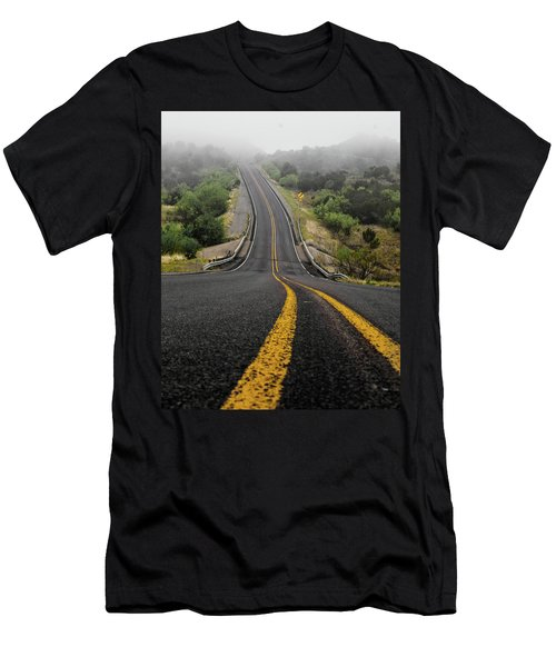 The Road Goes On Forever And The Party Never Ends Men's T-Shirt (Athletic Fit)