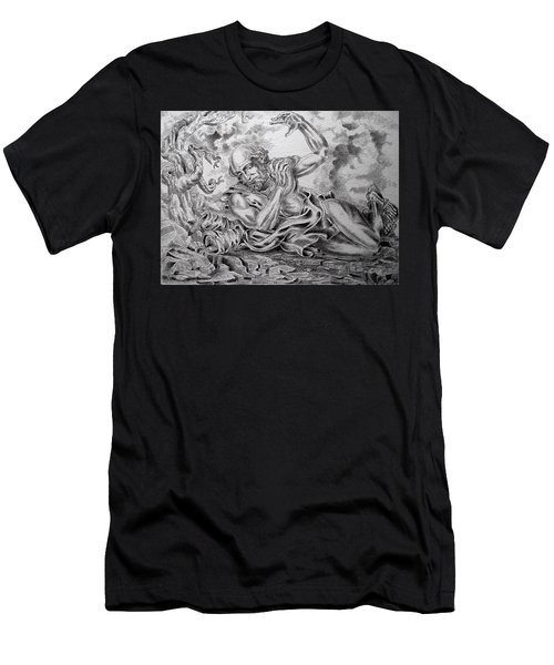 On The Road To Damascus Men's T-Shirt (Athletic Fit)