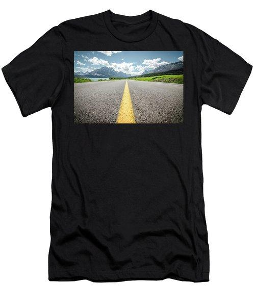 The Road To Glacier Men's T-Shirt (Athletic Fit)