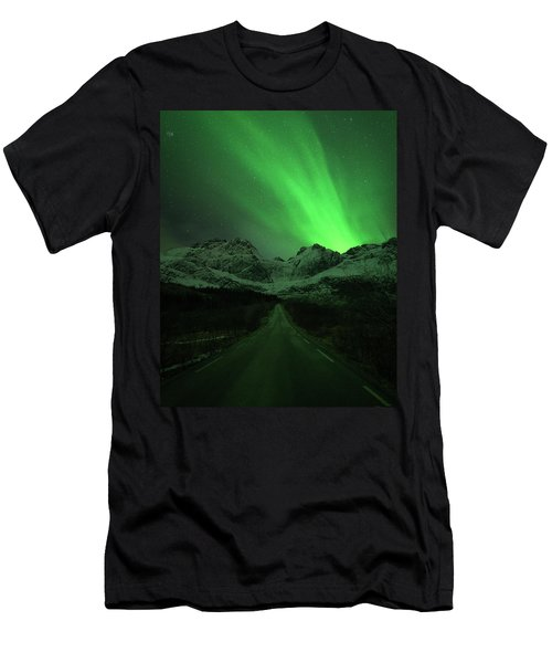 The Road To Nusfjord Men's T-Shirt (Athletic Fit)