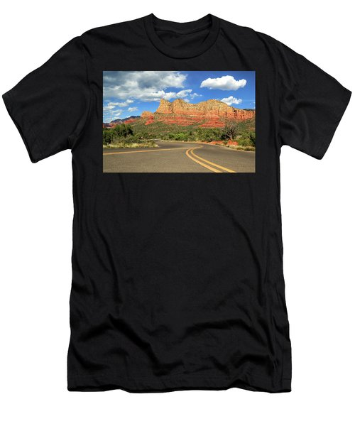 The Road To Sedona Men's T-Shirt (Athletic Fit)