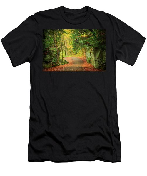 The Road To The Mill  Men's T-Shirt (Athletic Fit)