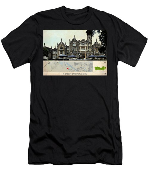 The Rocky Horror Picture Show Film Locations, Maidenhead, Berkshire Men's T-Shirt (Athletic Fit)
