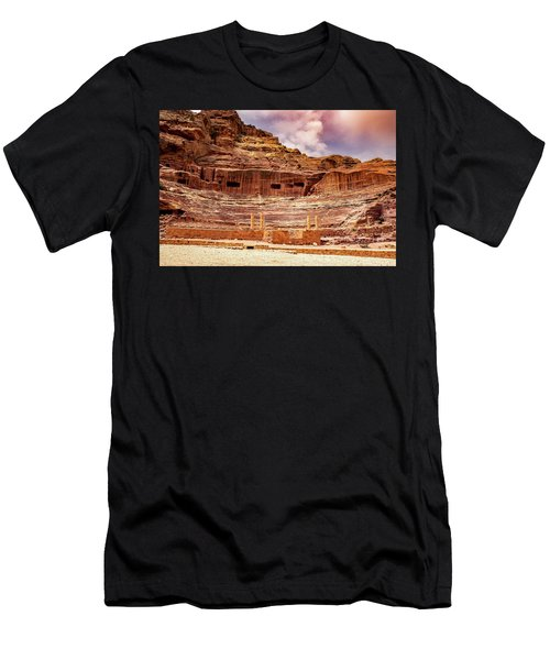 The Roman Theater At Petra Men's T-Shirt (Athletic Fit)