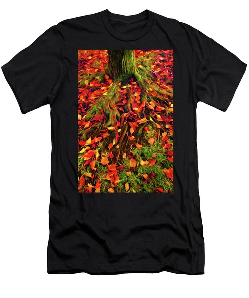 The Root Of Fall Men's T-Shirt (Athletic Fit)