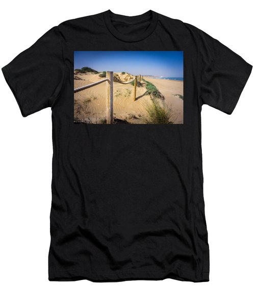 The Rope Fence. Men's T-Shirt (Athletic Fit)