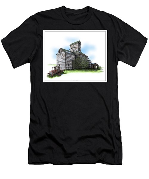 The Ross Elevator Spring Men's T-Shirt (Athletic Fit)