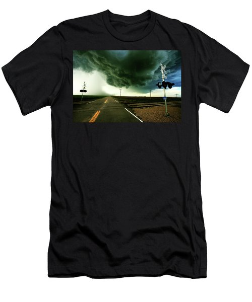 The Rough Road Ahead Men's T-Shirt (Athletic Fit)