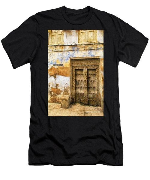 The Rustic Door Men's T-Shirt (Athletic Fit)