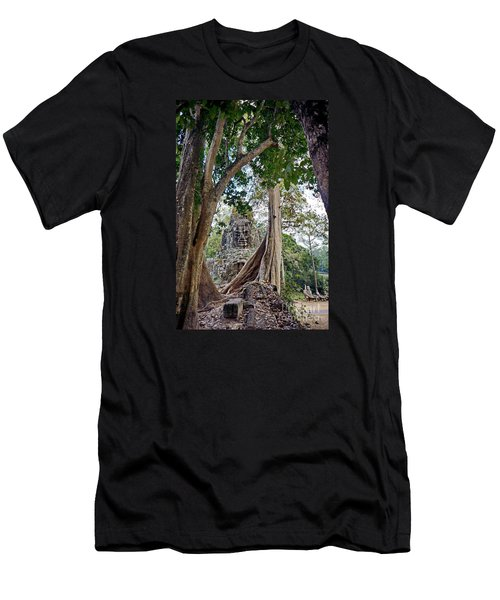 Men's T-Shirt (Slim Fit) featuring the photograph The S Gate by Arik S Mintorogo
