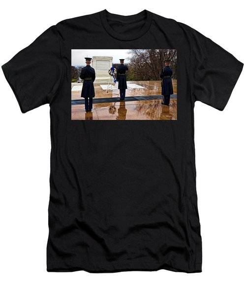The Salute Men's T-Shirt (Slim Fit) by Christopher Holmes