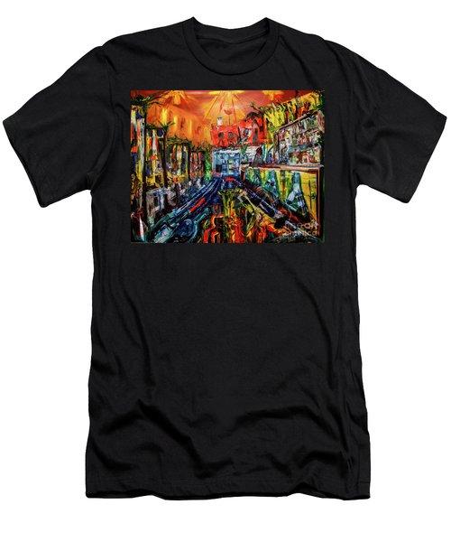 The Sangria Jug Men's T-Shirt (Athletic Fit)