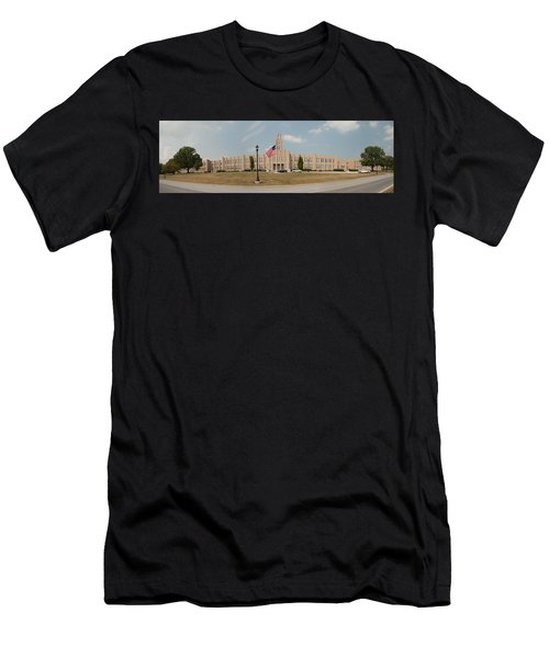 The School On The Hill Panorama Men's T-Shirt (Athletic Fit)
