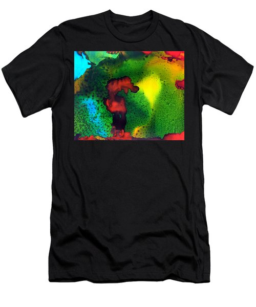The Sea Horse Standoff Men's T-Shirt (Athletic Fit)