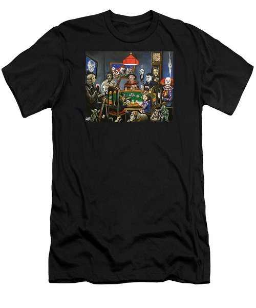 The Second Horror Game Men's T-Shirt (Slim Fit) by Tom Carlton