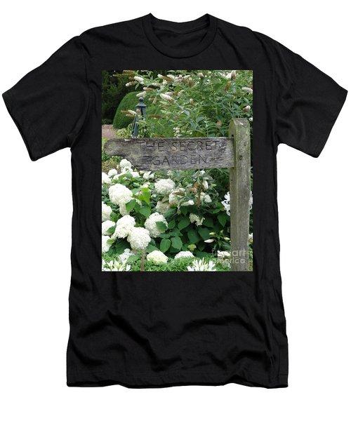 The Secret Garden Sign Men's T-Shirt (Athletic Fit)