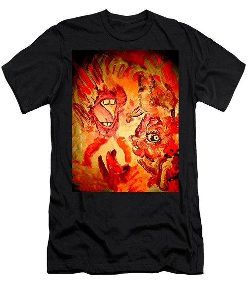 The Seven Sins Gluttony Men's T-Shirt (Athletic Fit)