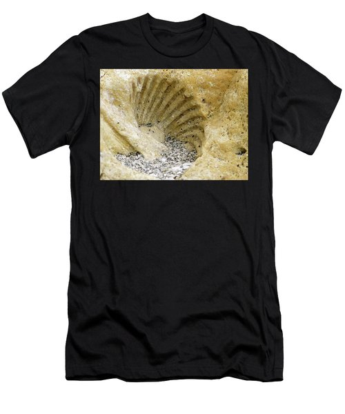 The Shell Fossil Men's T-Shirt (Athletic Fit)