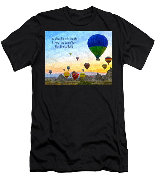 The Ships Hung In The Sky Men's T-Shirt (Athletic Fit)