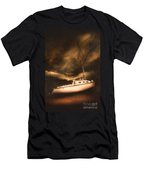 The Shipwreck And The Storm Men's T-Shirt (Athletic Fit)